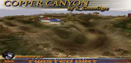 Motocross Madness 2 National Track Copper Canyon